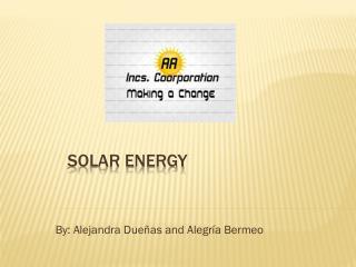 Solar E nergy