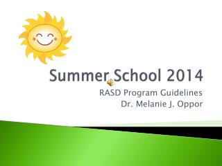 Summer School 2014