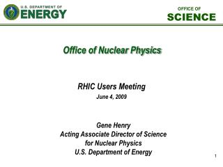 Office of Nuclear Physics