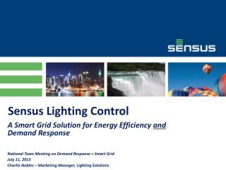 Sensus Lighting Control