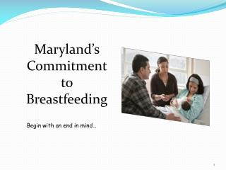 Maryland's Commitment to Breastfeeding