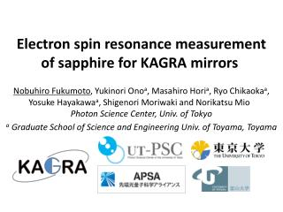 Electron spin resonance measurement of sapphire for KAGRA  mirrors