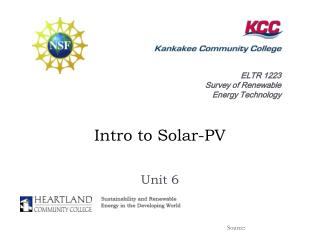 Intro to Solar-PV