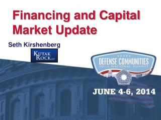 Financing and Capital Market Update