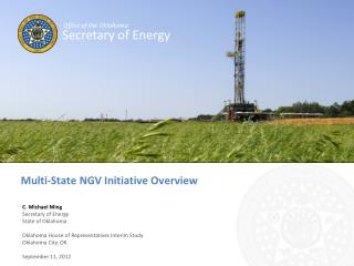 Multi-State NGV Initiative Overview