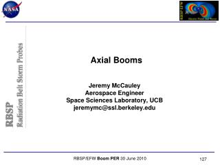 Axial Booms