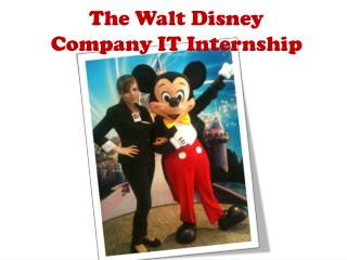 The Walt Disney  Company IT Internship