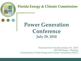Florida Energy & Climate Commission
