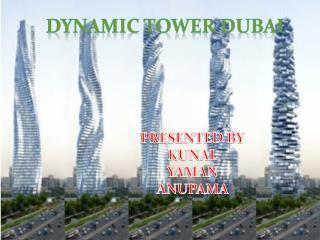 DYNAMIC TOWER DUBAI
