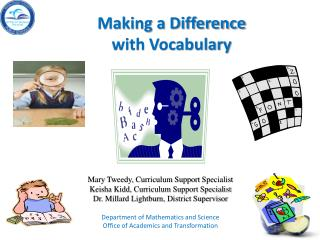 Making a Difference  with Vocabulary