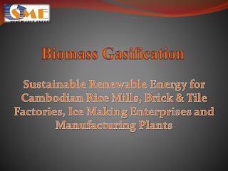 Biomass Gasification