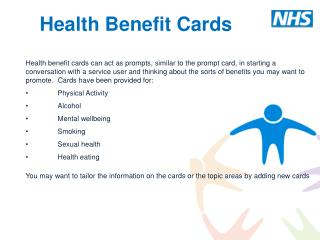 Health Benefit Cards