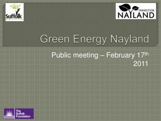 Green Energy Nayland