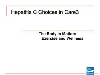 Hepatitis C Choices in Care3