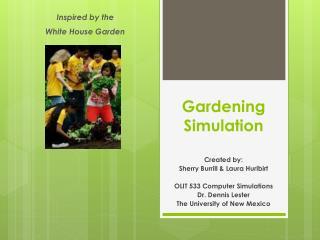 Gardening Simulation