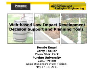Web-based Low Impact Development Decision Support and Planning  Tools