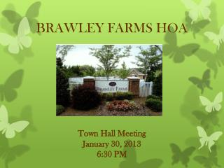 BRAWLEY FARMS HOA