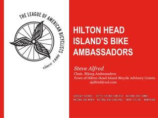 Hilton head island's bike ambassadors