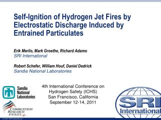 Self-Ignition of Hydrogen Jet Fires by Electrostatic Discharge Induced by Entrained Particulates