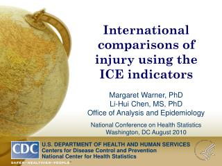 International comparisons of injury using the ICE indicators