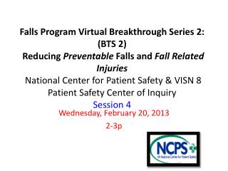 Wednesday, February 20, 2013 2-3p