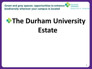 Green and grey spaces: opportunities to enhance biodiversity wherever your campus is located