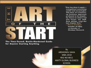 By ARDHENDU SAHA MBA-2010 REG NO-8011 AMITY GLOBAL BUSINESS SCHOOL