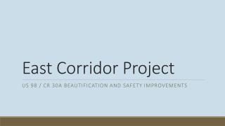 East Corridor Project