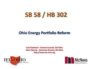 SB 58 / HB 302
