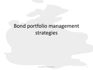yield to maturity the approximation approach