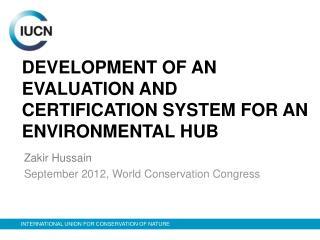 Zakir Hussain September 2012, World Conservation Congress