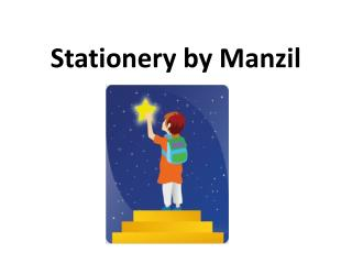 Stationery by Manzil
