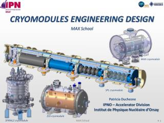 CRYOMODULES ENGINEERING DESIGN