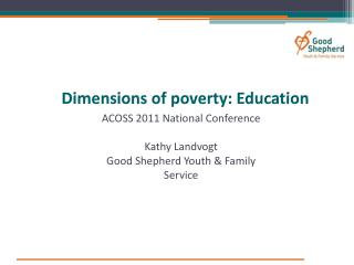 Dimensions of poverty: Education