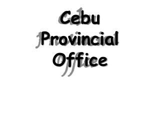 Cebu Provincial Office