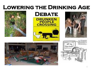 Lowering the Drinking Age Debate
