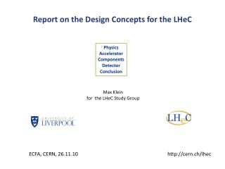Report on the Design Concepts for the  LHeC