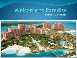 Welcome to Paradis e