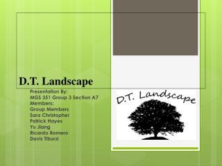 D.T. Landscape