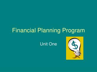 Financial Planning Program