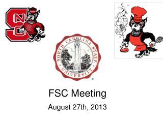FSC Meeting