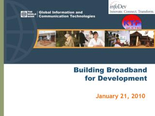 Building Broadband  for Development