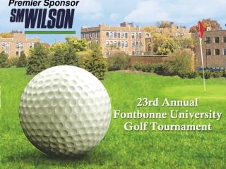 23rd Annual  Fontbonne University Golf Tournament
