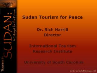Sudan Tourism  for Peace
