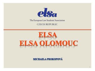 ELSA  ELSA Olomouc