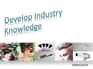 Develop Industry Knowledge