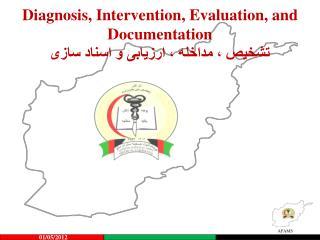 Diagnosis, Intervention, Evaluation, and Documentation تشخیص ، مداخله ، ارزیابی و اسناد سازی