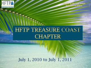 HFTP TREASURE  COAST  CHAPTER