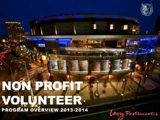 Non Profit volunteer