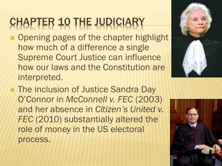 Chapter 10 The Judiciary